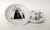 Sam | Šálek svobody | zdobený porcelánový servis | 2012