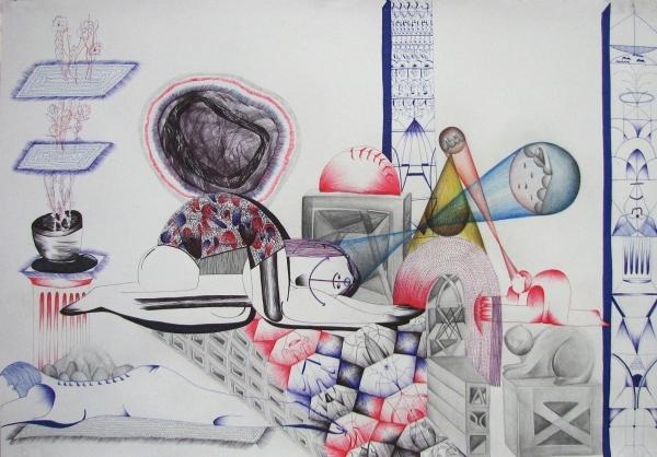 Malinova Pavla Kresba Malba Autori Vystavujici V Galerii Sam83