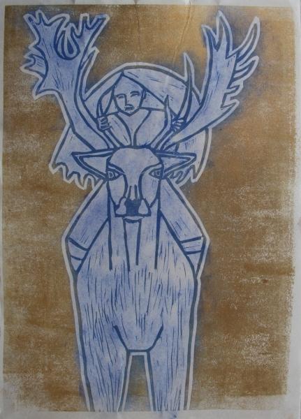 Cerna Johana Malba Kresba Autori Vystavujici V Galerii Sam83